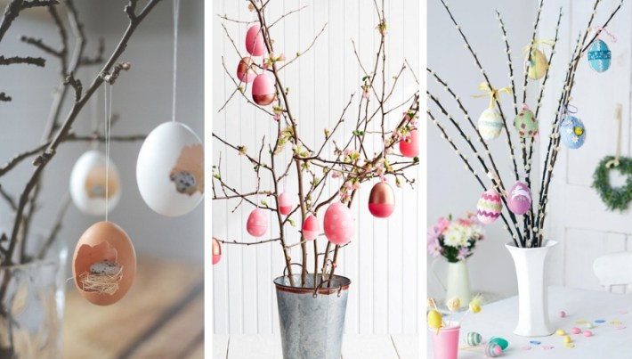 DIY Easter tree: all you need to know about making a huge Easter decor