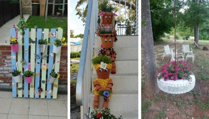40 Amazingly creative DIY craft ideas for the most wonderful flower garden