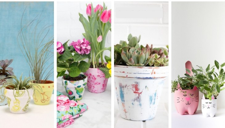 40+ Diy flowerpot ideas – A manual fresh activity to invite Spring in your home