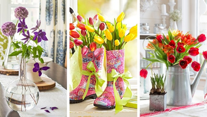 40 Spring decoration ideas full of color