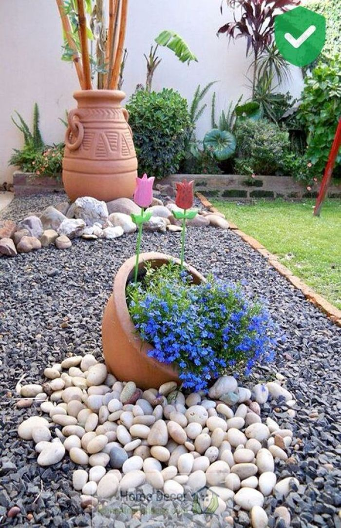 DIY Garden Decoration With Stones: 32 Absolutely Spectacular Ideas   My Desired Home