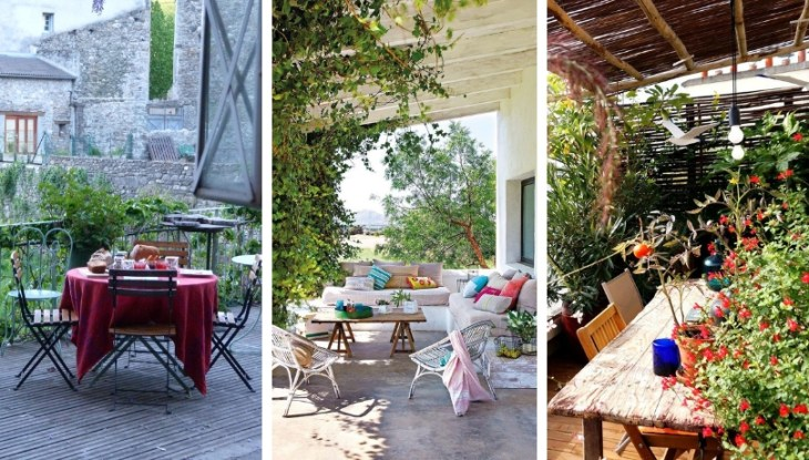 25 Great ideas with cottage terraces that make us literally dreaming