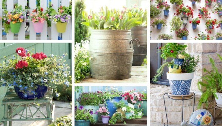 43 Trendy decoration ideas with potted flowers that will amazingly upgrade your home