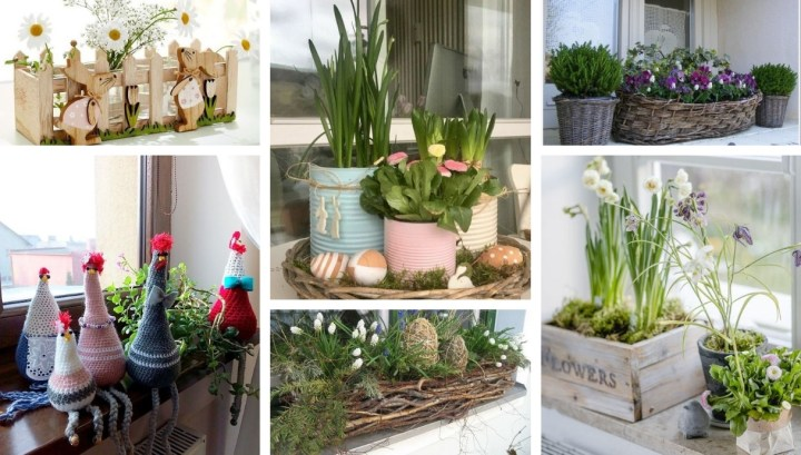 Easter inspiration for your window sills: Decorate your own with one of these beautiful decorations