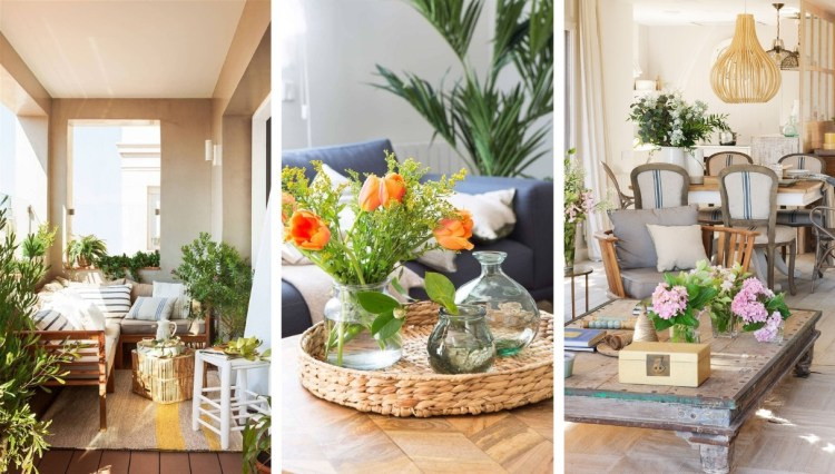 20 Beautiful ideas for a fresh spring atmosphere in your home