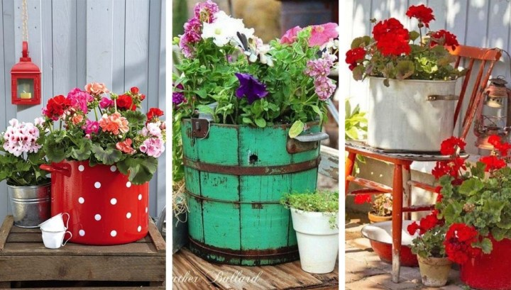 26 Great ideas and decorations for a spring atmosphere in your yard and garden