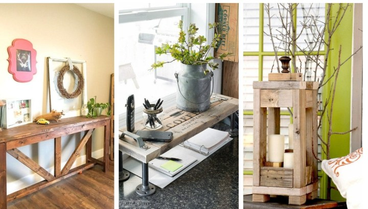 20 Great DIY ideas from cheap wooden boards