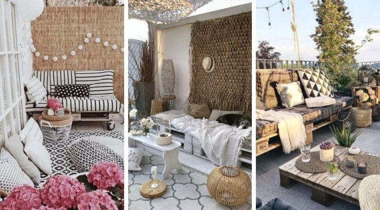 How to make garden furnitures easily with pallets? 20 super ideas for inspiration