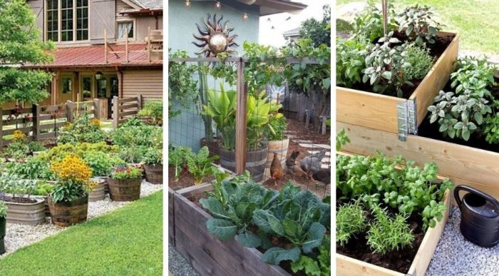 22 Great ideas with DIY vegetable beds for save space and enhance production