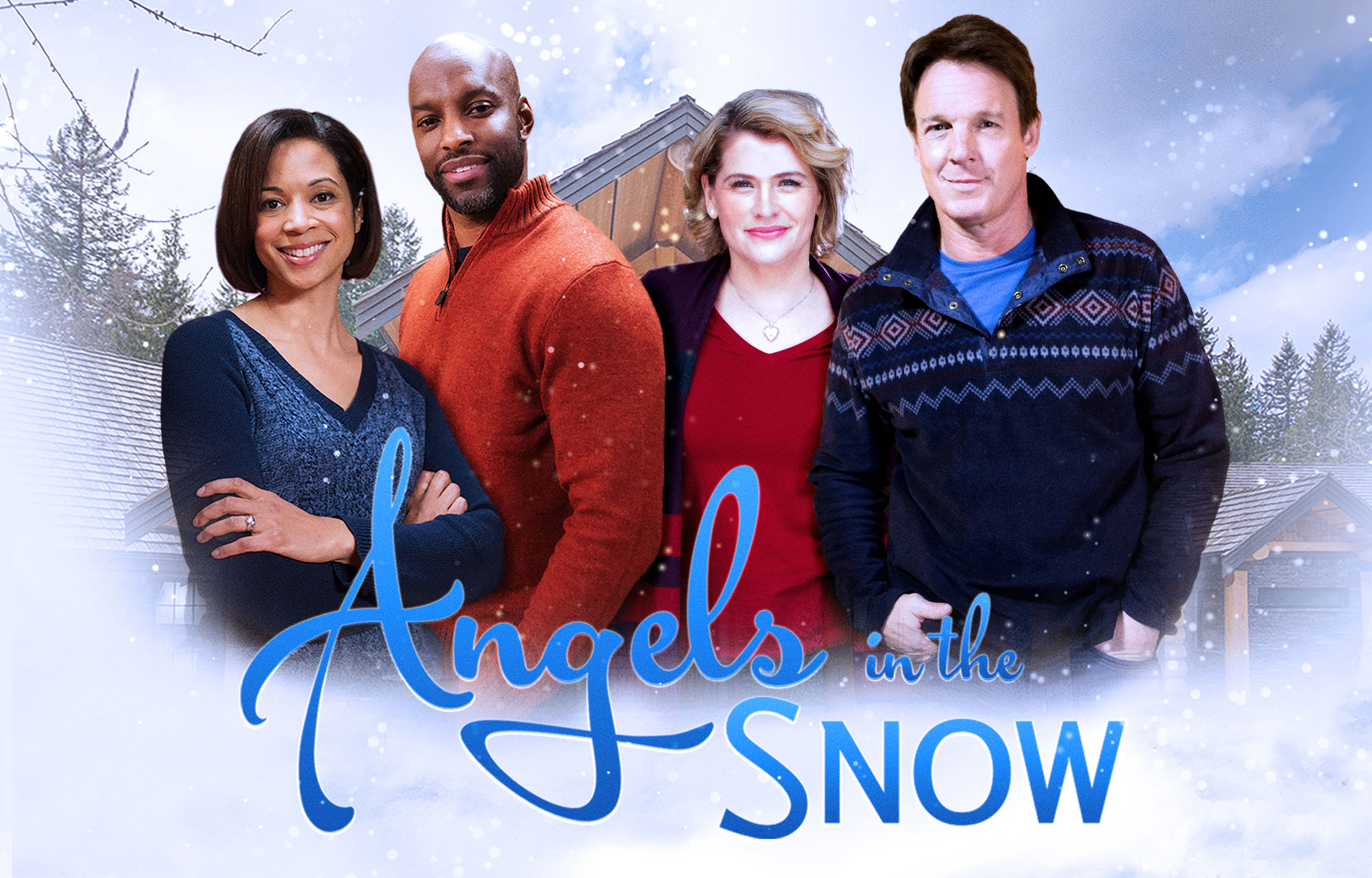 Image result for angels in the snow