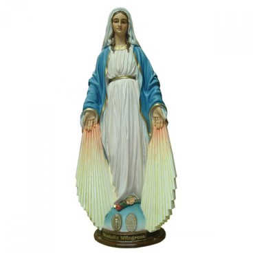 Our Lady of Grace with rays statue