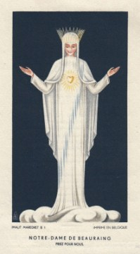 our lady of beauraing prayer card 3
