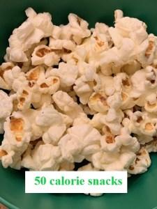 50 calorie snacks