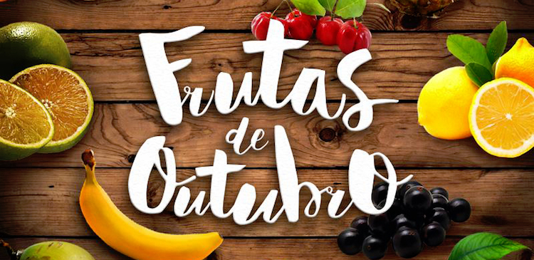 Frutas do Mês de Outubro