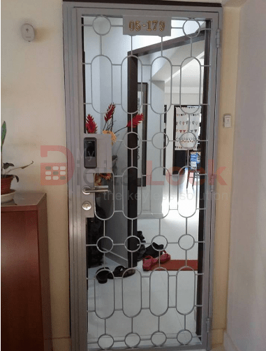 8. Single Leaf Retro HDB Mild Steel Gate 2 copy