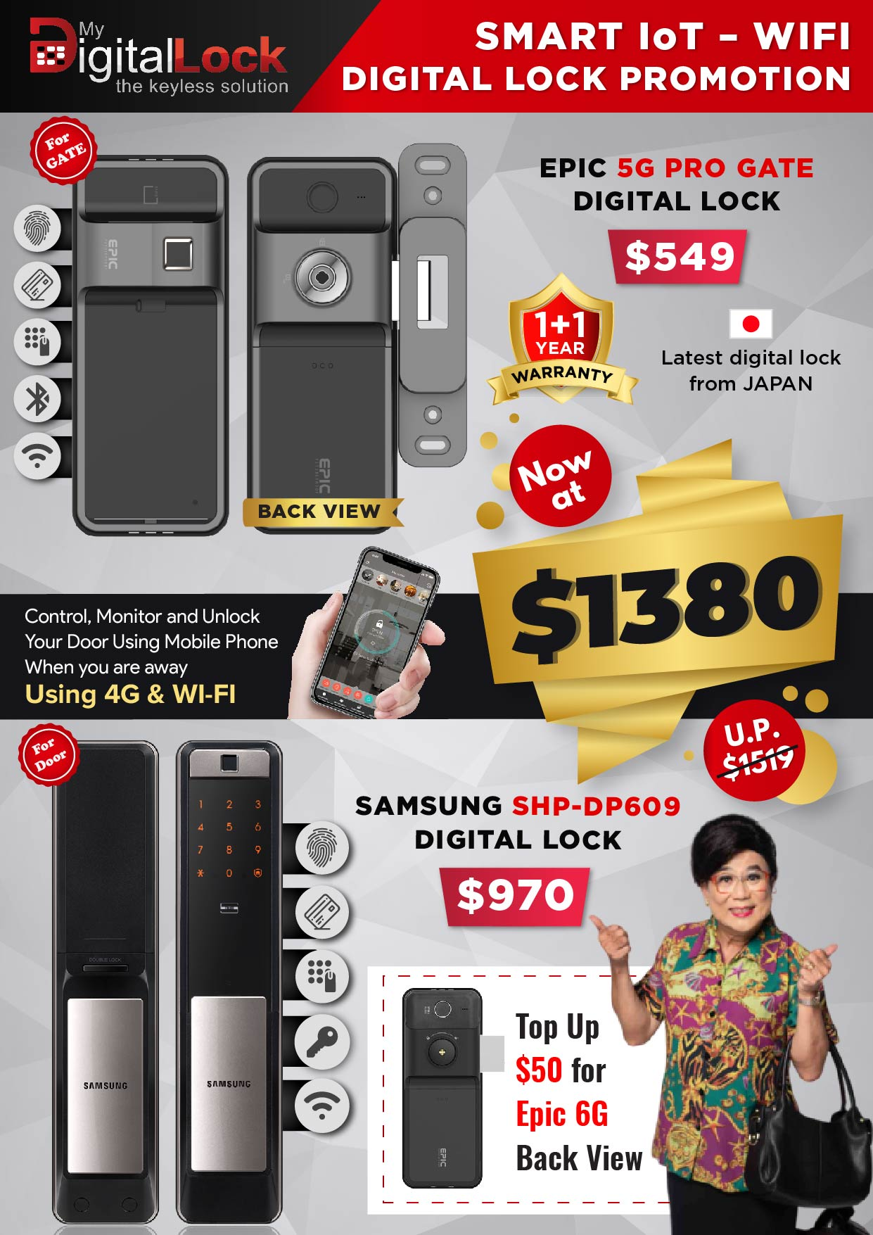 EPIC-5G-PRO-Gate-and-Samsung-SHP-DP609-Door-Digital-Lock-Promotions-14