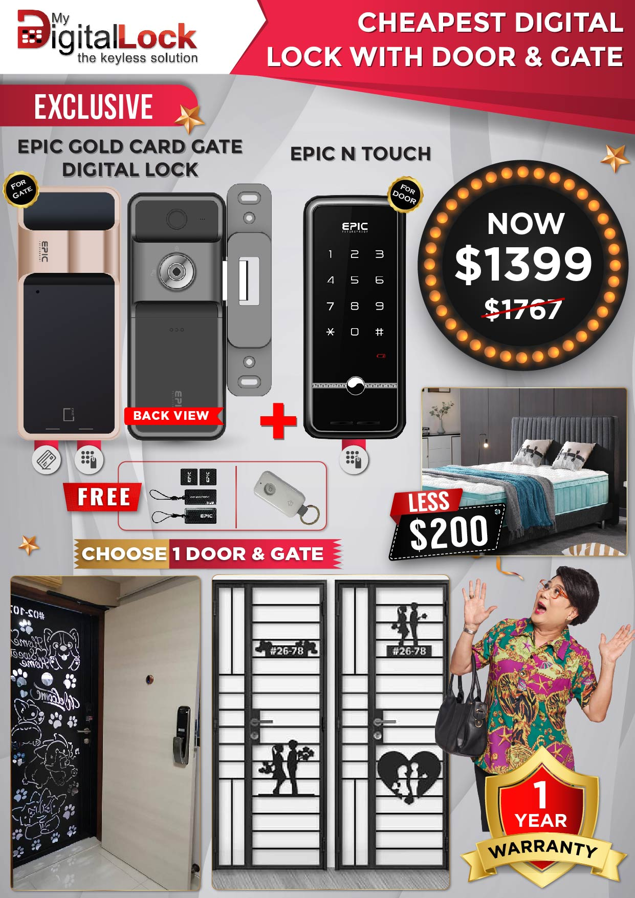EPIC-Gold-Card-Gate-and-N-Touch-Digital-Lock-with-Door-and-Gate-10