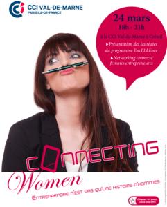 #ENTREPRENARIAT  - Connecting Women - By l'Agence pour l'entreprenariat féminin et la CCI Val de Marne @ Vitry-sur-Seine | Île-de-France | France