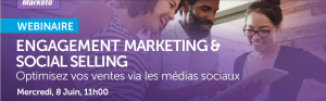 #EMARKETING- Engagement Marketing & Social Selling - By Marketo et Hootsuite