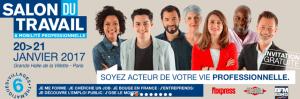 #ENTREPRENARIAT - Salon du travail et de la mobilité professionnelle - By Altice Media @ Grande halle de la Villette | Paris | Île-de-France | France