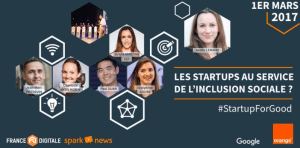#StartupForGood - Les startups au service de l'inclusion sociale ? - By FRANCE DIGITALE @ Criteo  | Paris | Île-de-France | France