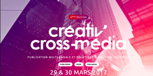 #PUBLICATION - CREATIVE CROSS MEDIA - By DOTEVENTS @ Palais Brongniart  | Paris | Île-de-France | France