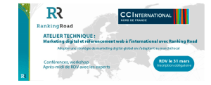 #eMARKETING - Marketing digital et référencement web à l'international - By Ranking Road @ Espace International  | Lille | Hauts-de-France | France