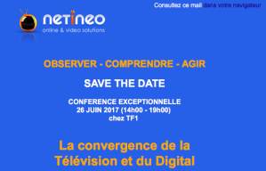 #eMARKETING  - Convergence Télévision et Digital - By NETINEO @ TF1 | Boulogne-Billancourt | Île-de-France | France
