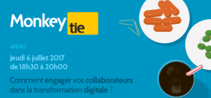 #TRANSFORMATION - Comment engager vos collaborateurs dans la transformation digitale ? By Monkey tie @ Monkey tie | Paris | Île-de-France | France