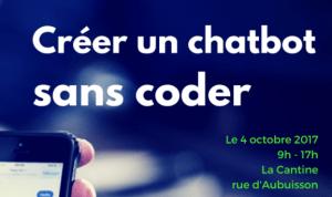 #DEV - Créer un chabot sans coder - By La Cantine @ La Cantine  | Toulouse | Occitanie | France