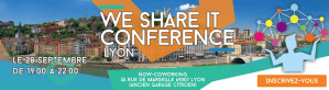 #IT - We Share IT Conference Lyon - By Infotel Conseil @ Now-Coworking | Lyon | Auvergne-Rhône-Alpes | France