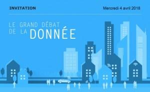 #REGLEMENTATION - Grand débat de la donnée 2018 : Données et gouvernance publique - By Syntec Numérique @ Salle Wagram | Paris | Île-de-France | France