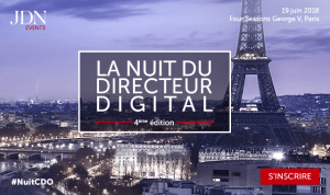#MARKETING #NUITCDO - La Nuit du Directeur Digital - By JDN Events @ Four Seasons Hotel, George V | Paris | Île-de-France | France