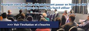 #TECH - Pourquoi votre site doit obligatoirement passer en https cet été ? - By AJ' Démat et Socotic @ Hôtel Mercure Tours Nord | Tours | Centre-Val de Loire | France