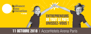 #ENTREPRENARIAT #INNOGENERATION  - Bpifrance Inno Génération - By BPI france @ AccorHotels Arena | Paris | Île-de-France | France