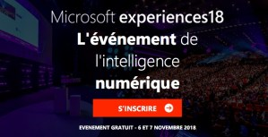 #INNOVATION - Microsoft Experiences18 - By Microsoft @ Palais des Congrès  | Paris | Île-de-France | France