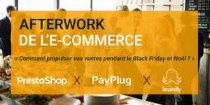 #RETAIL - Afterwork de l'e-commerce - By PayPlug - PrestaShop - Brainify @ PrestaShop | Paris | Île-de-France | France