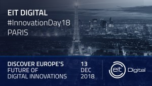 #INNOVATIONS -  #InnovationDay18 Paris - By EIT Digital @ Cloud Business Center | Paris | Île-de-France | France