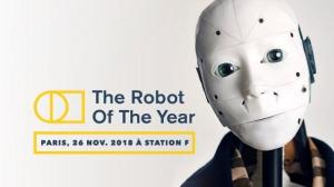 #INNOVATIONS - The Robot Of The Year - By The Robot Of The Year @ Station F | Paris | Île-de-France | France
