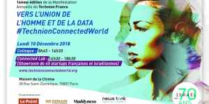 #TECH - #TechnionConnectedWorld, Vers l'Union de l'Homme et de la Data - Colloque - By Technion France @ Maison de la Chimie | Paris | Île-de-France | France