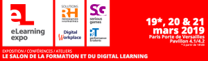 #RH – eLearning expo 2019 – By Groupe Solutions @ Paris Porte de Versailles