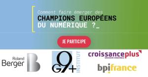 #ENTREPRENARIAT - « Champions européens du numérique ? » BY Institut G9 + @ Hôtel des Arts & Métiers