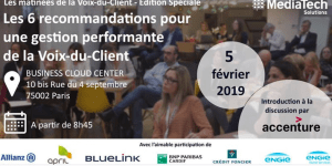 #MARKETING - La Voix-du-Client 2019 - By MediaTech Solutions @ Cloud Business Center,