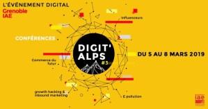 #INNOVATIONS - DIGITAL ALPS - By IAE @   IAE de Grenoble