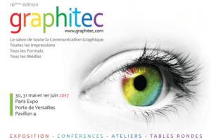 #TECH - Graphitec Le salon des imprimeurs et des industries graphiques - By Groupe Solutions @ Paris Expo Porte de Versailles