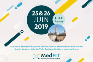 #INNOVATIONS - MedFIT - By Eurasanté - NHL Cluster - Medicalps - BioValley France @ Lille Grand Palais