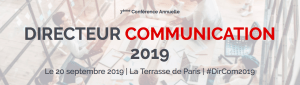 #INNOVATIONS #DirCom2019 – Directeur Communication 2019 – By Drive Innovation Insights @ La Terrasse de Paris