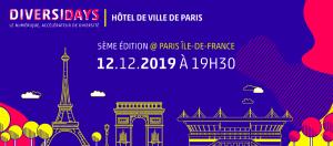 #SOCIETE - #DIVERSIDAYS 5 ème édition  - By DIVERSIDAYS @ HOTEL DE VILLE DE PARIS