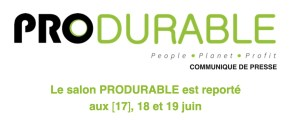 #INNOVATIONS #SMARCITIES  - Produrable 2020 - By Aef info @ Palais des Congrès Paris, France