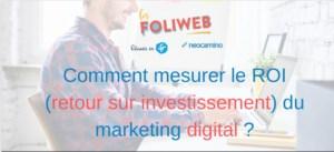 #MARKETING #WEBINAR - Comment mesurer le ROI (retour sur investissement) du marketing digital ? - By Néocamino & Réussir en fr